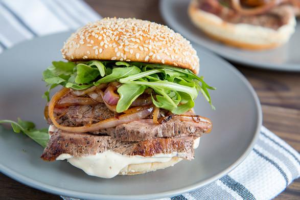 Hanger Steak Sandwich