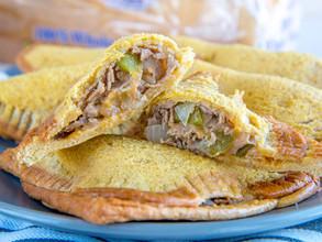 Philly Cheesesteak Pocket Sandwiches