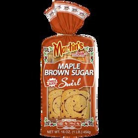 Maple Brown Sugar Swirl Potato Bread