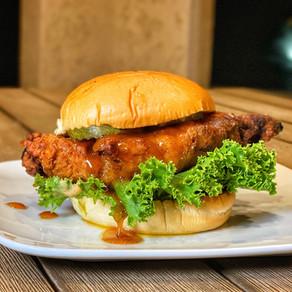 Cayenne Honey Butter Chicken Sandwich by @houstoneatz