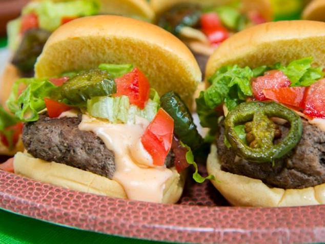 Nacho Burger Sliders