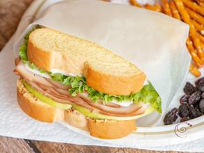 Turkey and Green Apple Sandwich