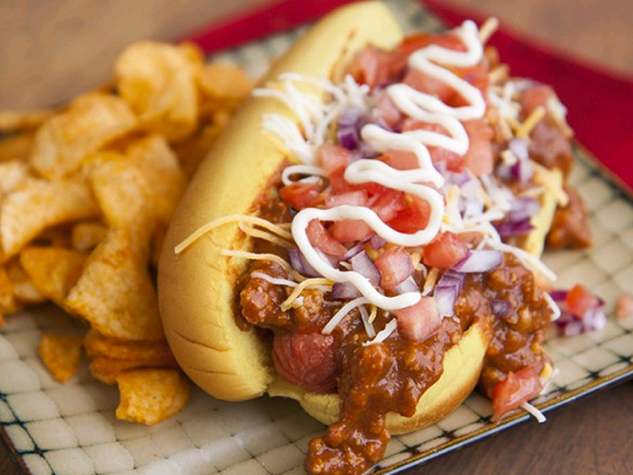 Loaded Chili Dog