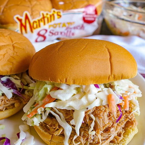 BBQ Chicken Sandwich by @thehungrypetite