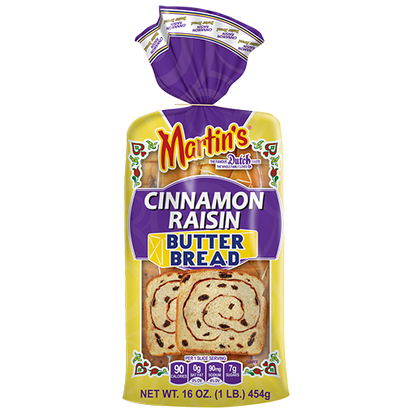 Cinnamon Raisin Butter Bread