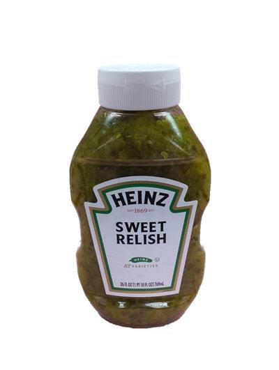 美國HEINZ亨氏 甜熱狗醬 26安士