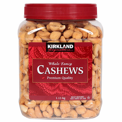 Kirkland Salted Cashews 40oz