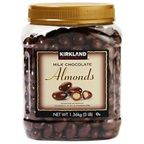 Kirkland Chocolate Almonds 48oz
