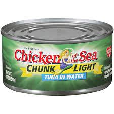 美國CHICKEN OF SEA 水浸吞拿魚 198g