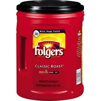 美國FOLGERS 經典咖啡 48oz