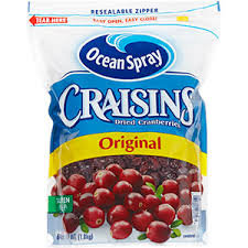 Ocean Spray Craisins 64oz