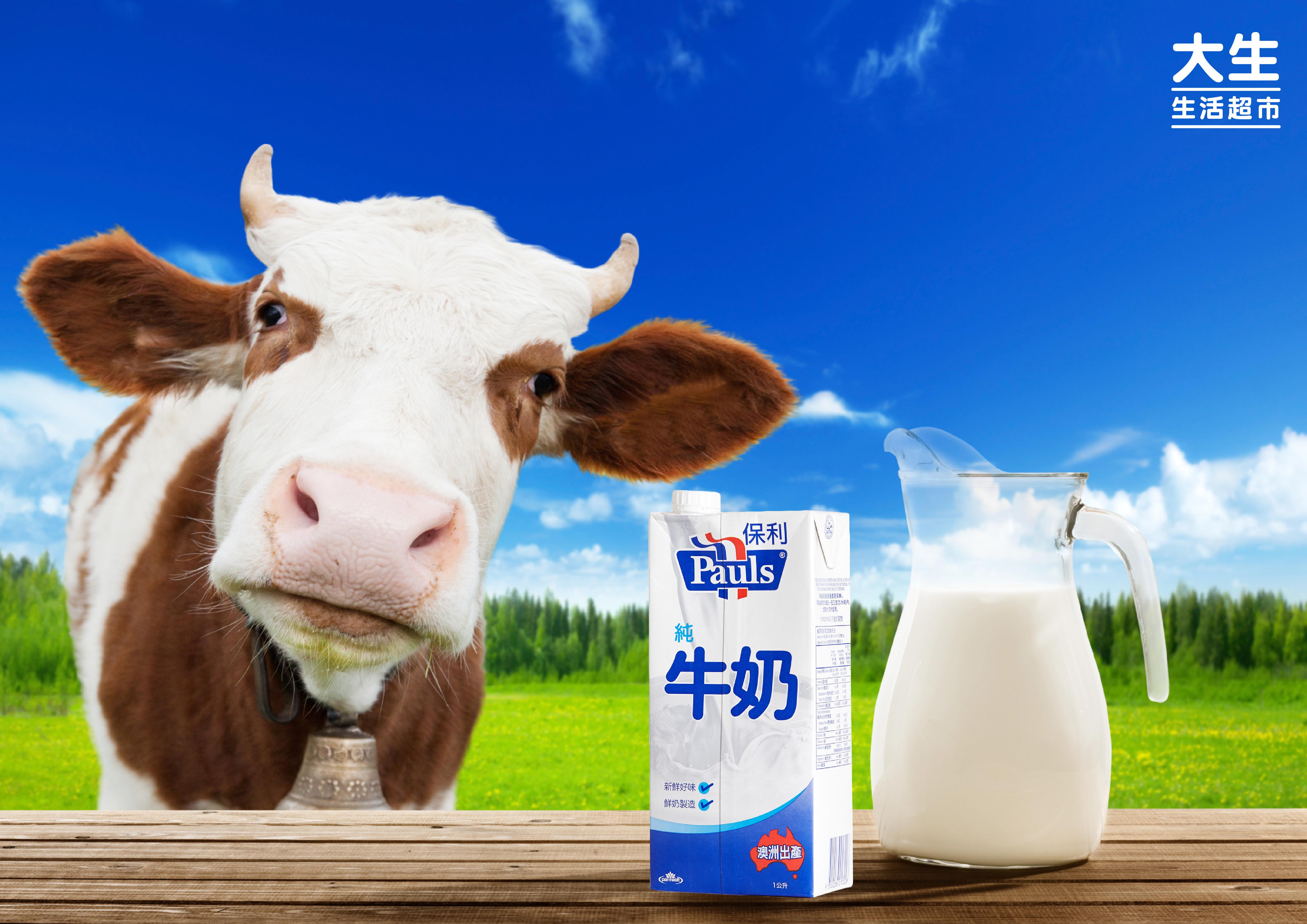 澳洲保利純牛奶Pauls