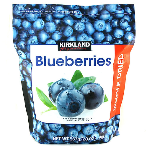 KS Whole Dried Blueberries