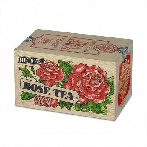 斯里蘭卡MLESNA 木盒茶包-玫瑰 25x2g