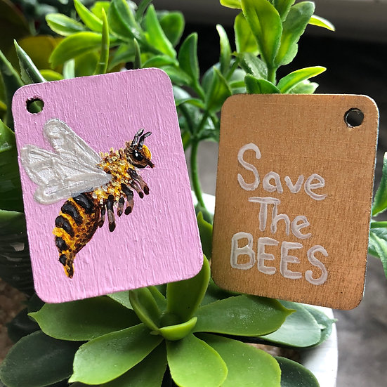 'Save The Bees' Keychains