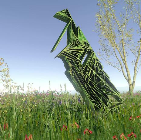 Overgrown Obelisk