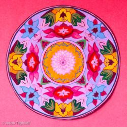 Circular plate design