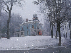 Outside in a Snow Fall