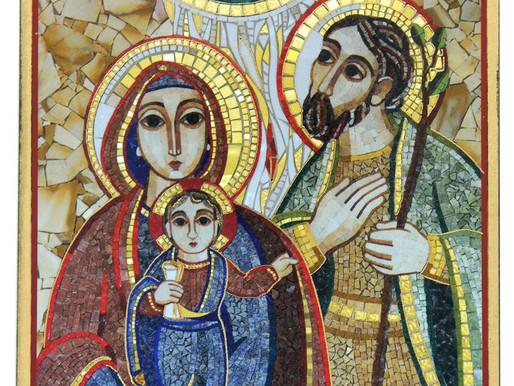 29 dicembre 2019 - domenica Sacra Famiglia di Gesù Maria e Giuseppe