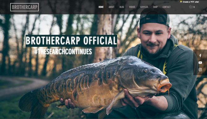BROTHERCARP WEBSITE LAUNCHED!!