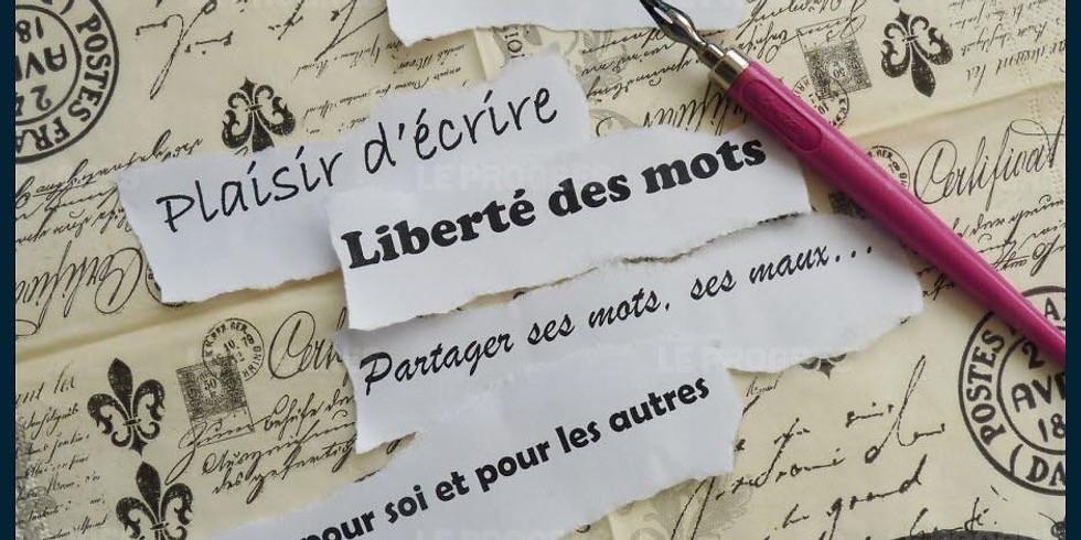 Découverte des Ateliers d'Ecriture - Par Martine Comlan-Cataria