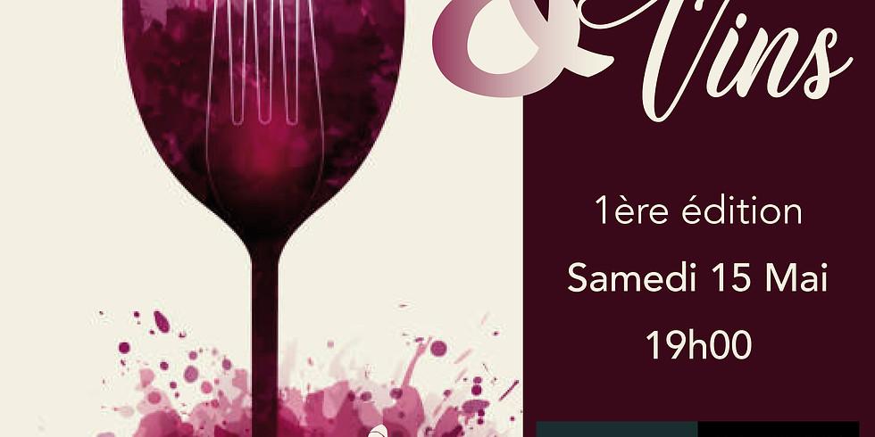 Diner accord met & vin à la table du DG en collaboration avec Dafrimex