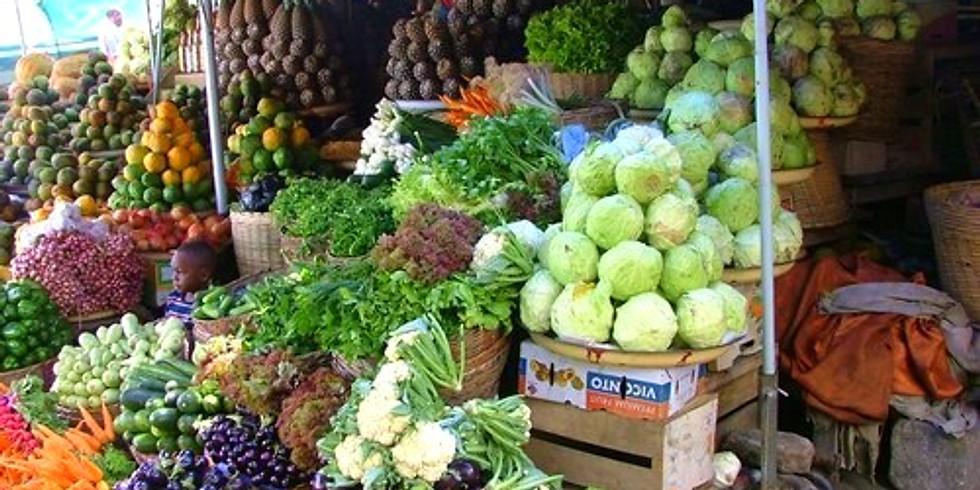 Faites votre marché aux fruits, légumes et épices avec Olivia !