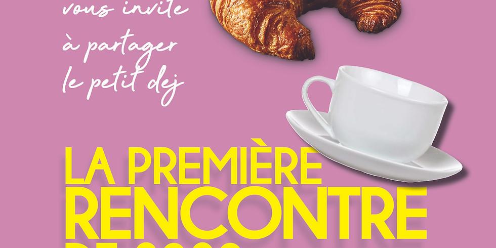 Première rencontre 2020 : P'tit Déj à l'Institut Français