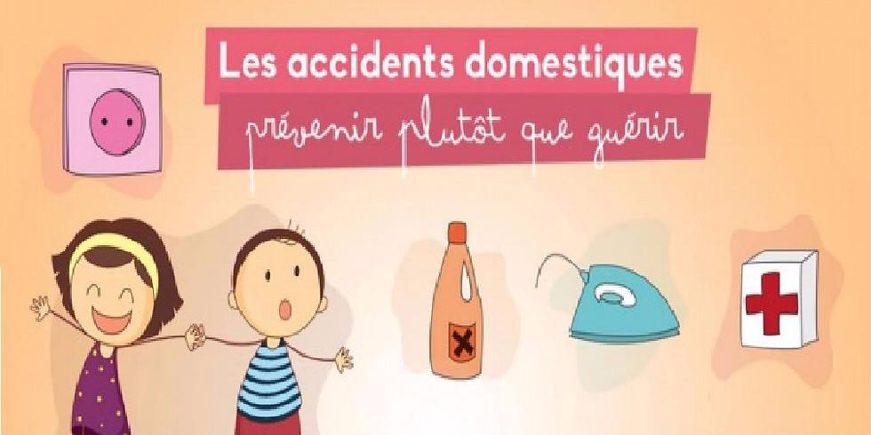 Prévention des accidents domestiques et gestes de premier secours pour enfant et nourrisson