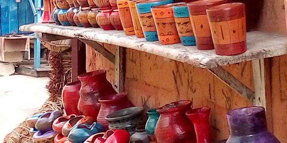 Visite du Marché Artisanal de Lomé