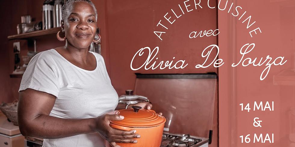 Atelier Cuisine avec Olivia De Souza le 16 Mai