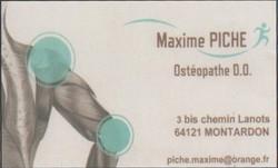 Maxime Piche Osteopathe