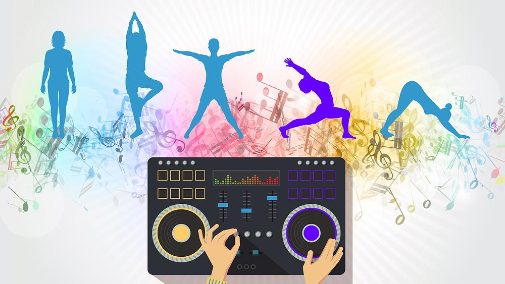 Hot Yoga meets Live DJ
