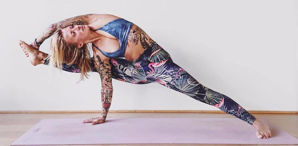 Workshop mit Jelena Lieberg bei Berlin Hot Yoga