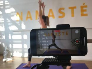 Wie geht das mit dem Online Yoga?