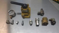 Gauge, Valves, Quick connectors