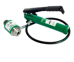 Greenlee Hand Pump and Punch