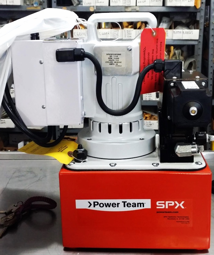 POWER TEAM ELECTRIC PUMP