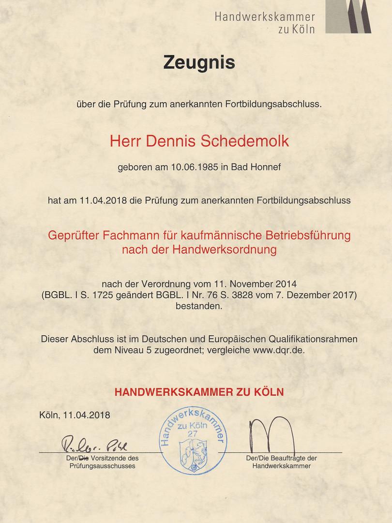 HWK Fachkaufmann