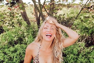 Meranda in a leopard bikini