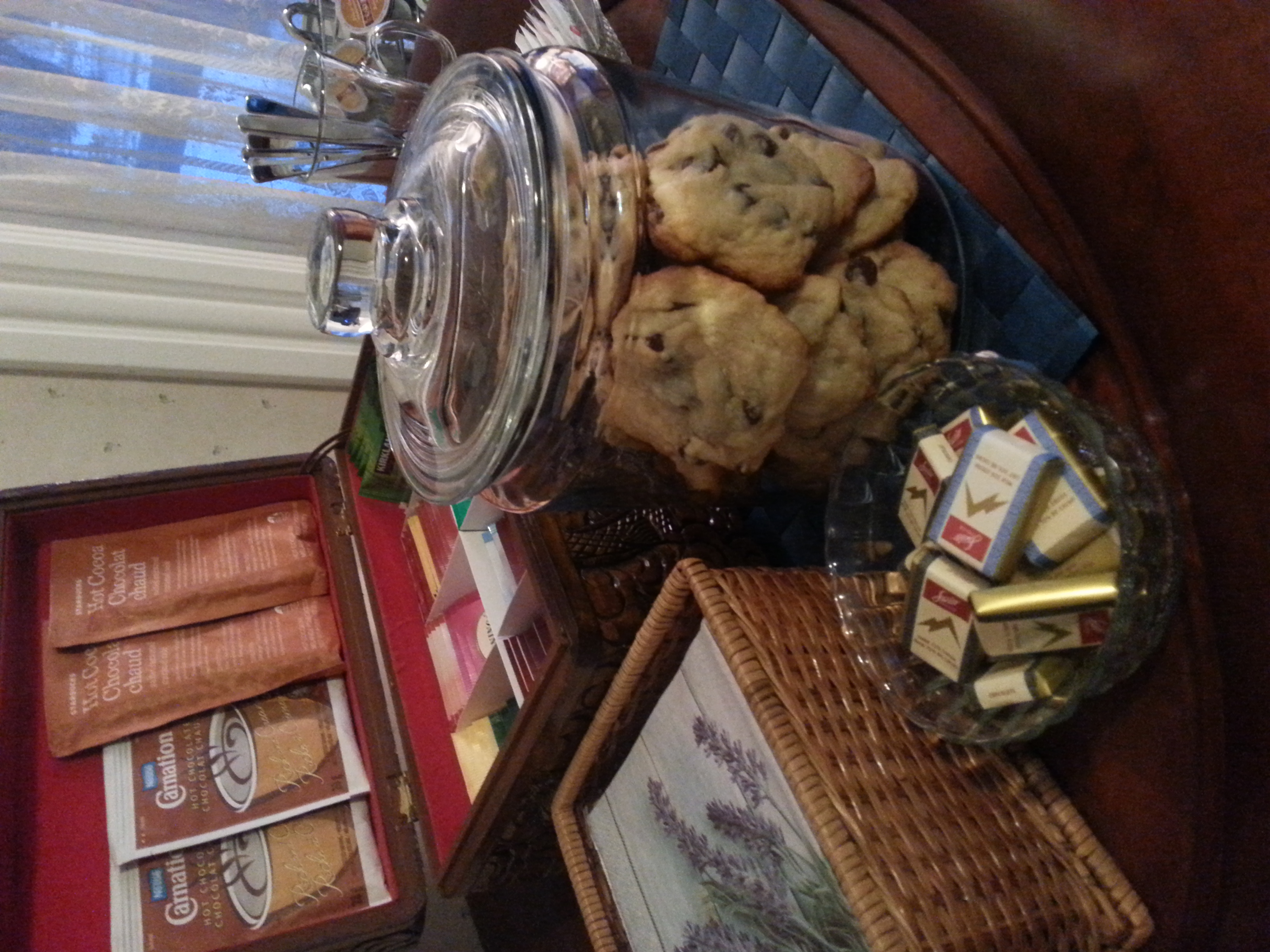 Homemade cookies always available