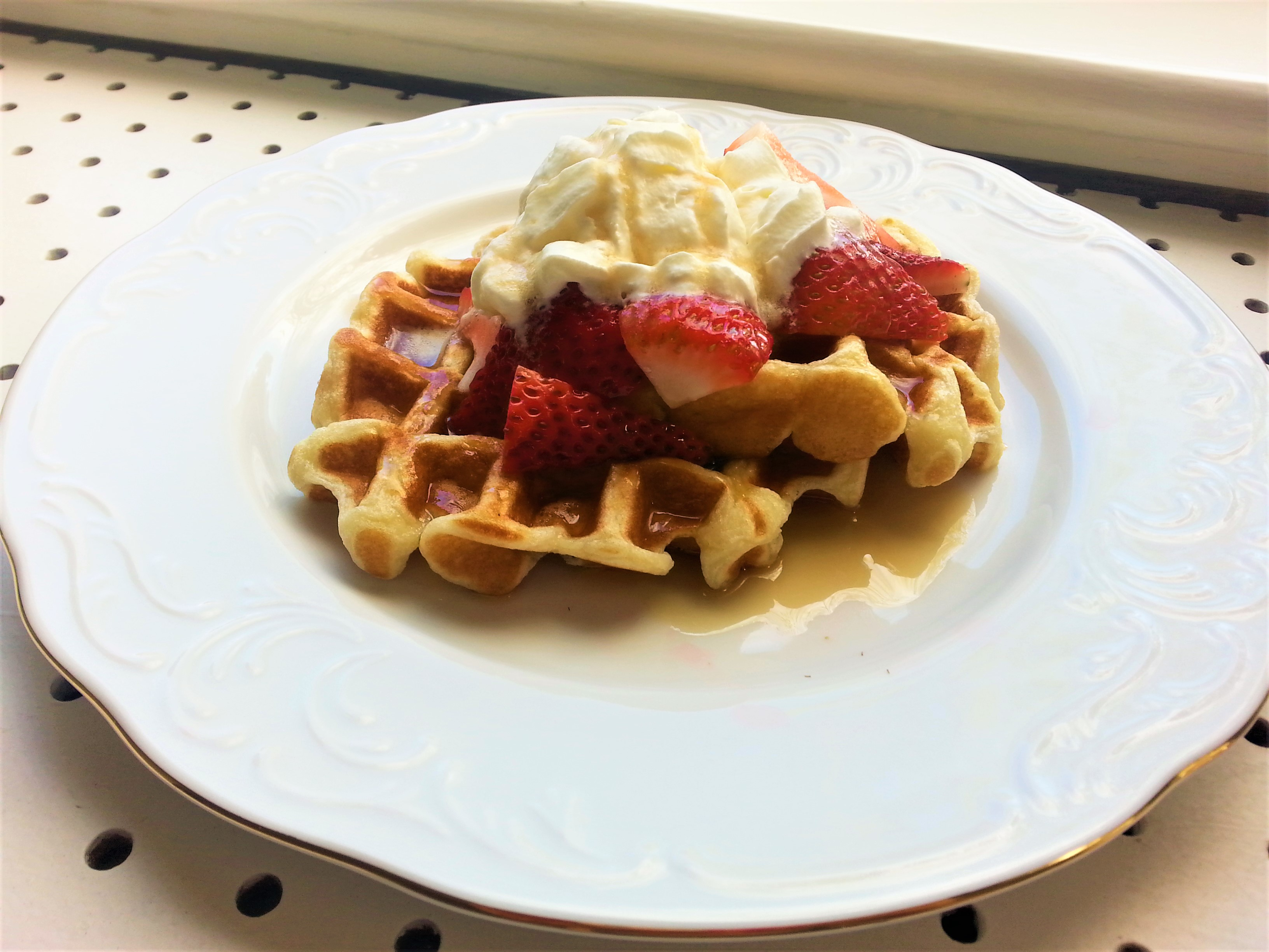 Waffles are Michelle's favourite!