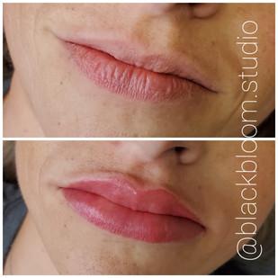 Lip Blush Cosmetic Tattoo