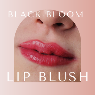 Lip Blush Service.  Www.blackbloom.studio 19141 Stone Oak Pkwy #504-A, San Antonio, TX 78258
