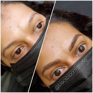 Microblading & Machine Shading includes a touch-up