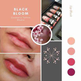 Lip blush customized pigment.