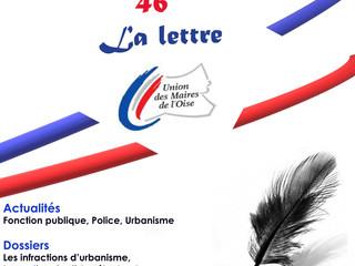 """N°46 : La lettre """"nouvelle"""" de l'UMO est parue !"""
