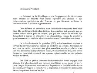 Communiqué du Ministre d'Etat, Monsieur Gérard Collomb, sur la présence de la police de sécurité