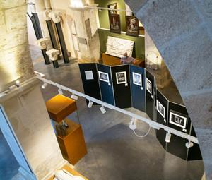 L'exposition à la Chapelle Sant-Didier