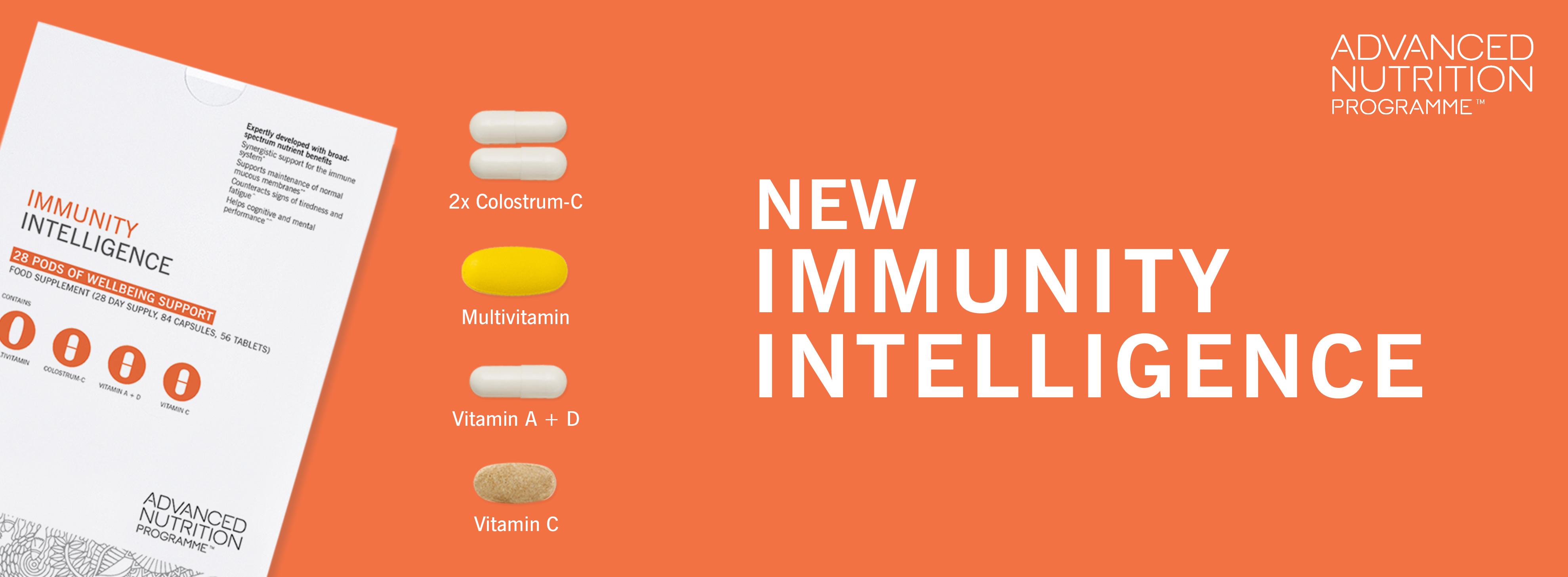 Advanced Nutrition Programme - Immunity Intelligence